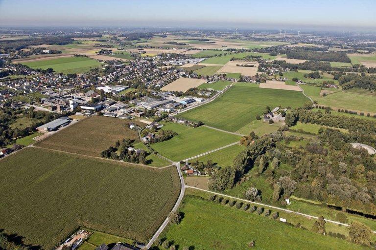Gewerbegebiet Feldstraße in Süchteln