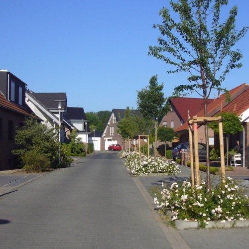Wohngebiet Neustraße in Süchteln