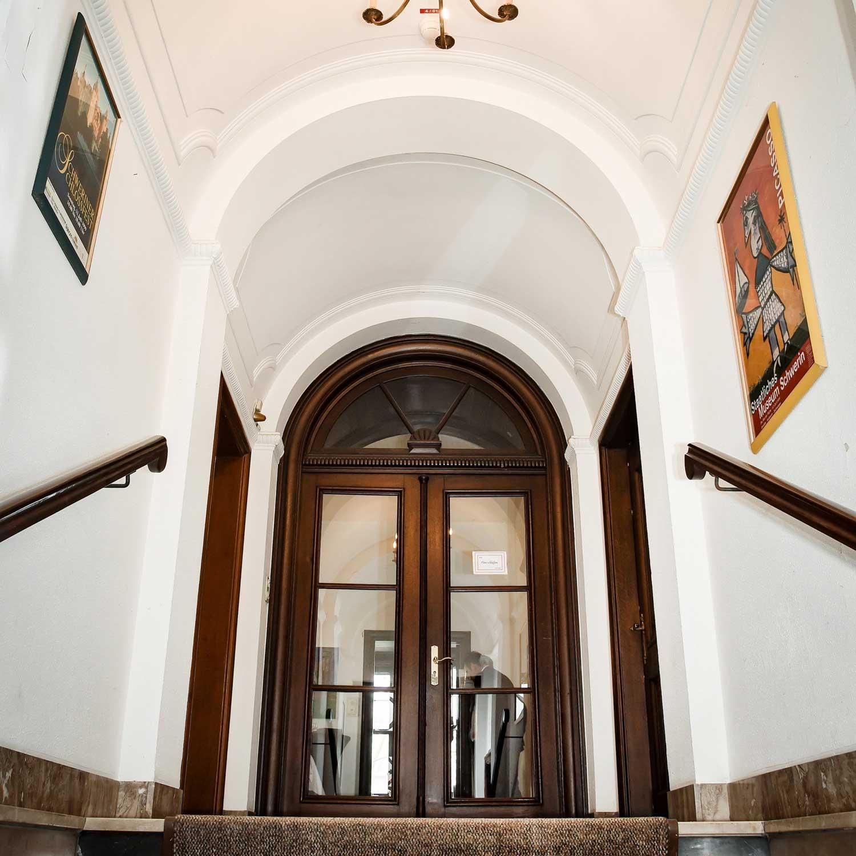 Die Villa Marx, jetzt frisch saniert wieder für die Viersener Bürger zu betreten.
