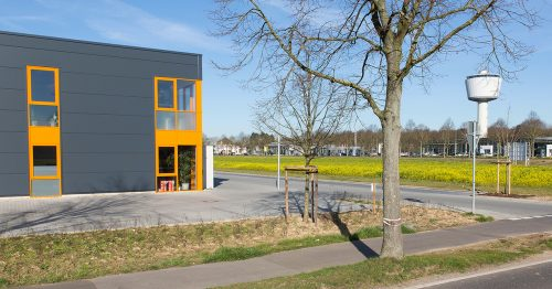 Businesspark Ransberg: Top-Anbindung dank Glasfaserkabel