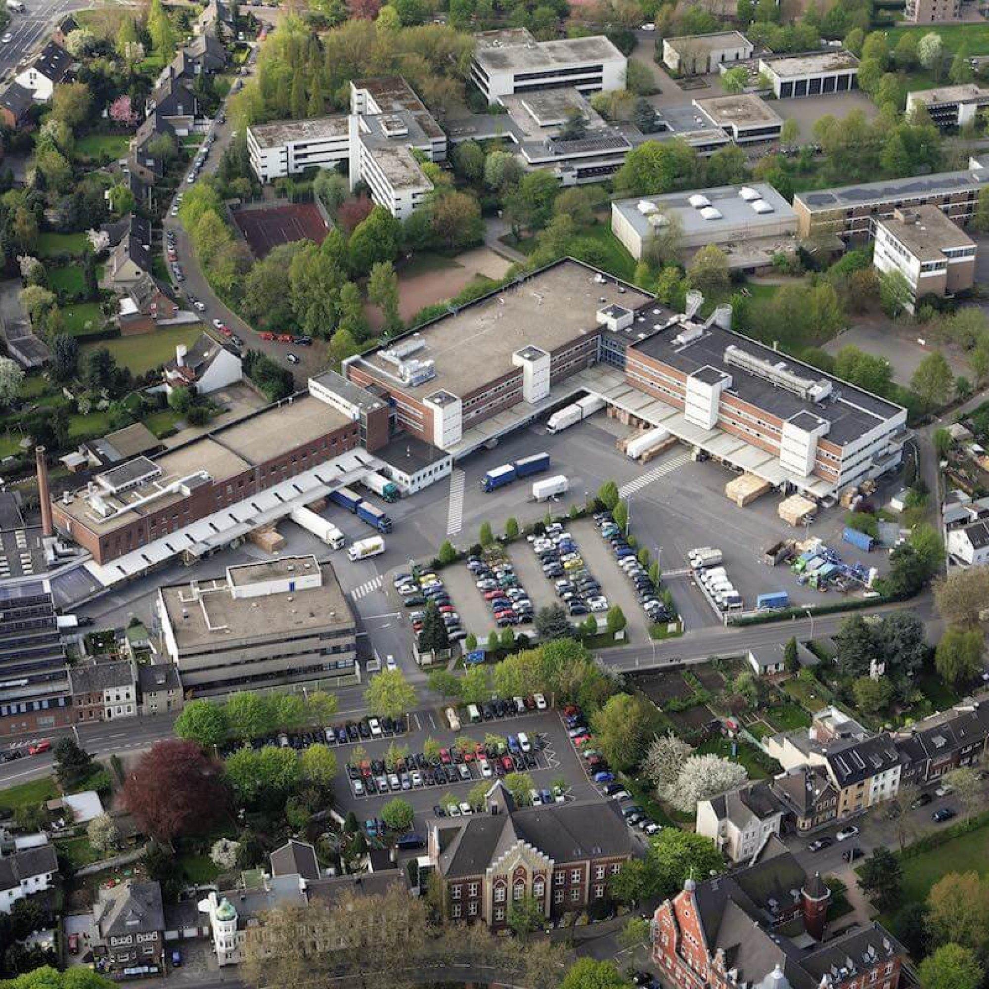 Schwarzkopf & Henkel Luftaufnahme