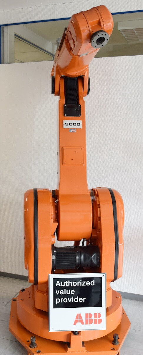 Eule Industrial Robotics Roboter von ABB