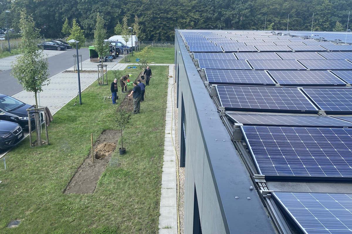 MVZ DaVita Viersen Photovoltaik-Anlage