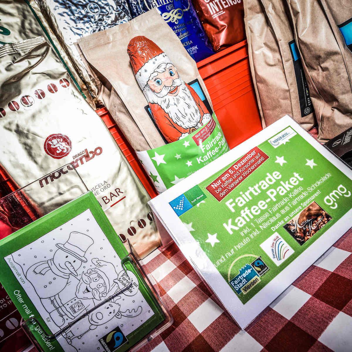Aktion Fairtrade & Sticker Kaffee & Konsorten