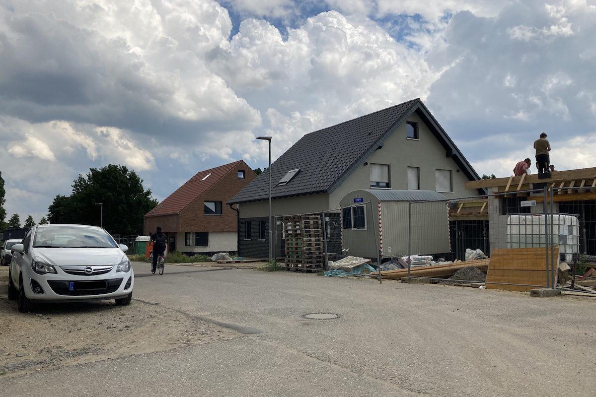 """Straßenendausbau im Wohngebiet """"Landwehrstraße Süd"""""""