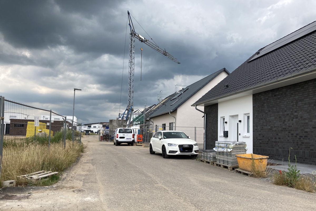 """Straßenendausbau im Wohnbaugebiet """"Landwehrstraße Süd"""""""