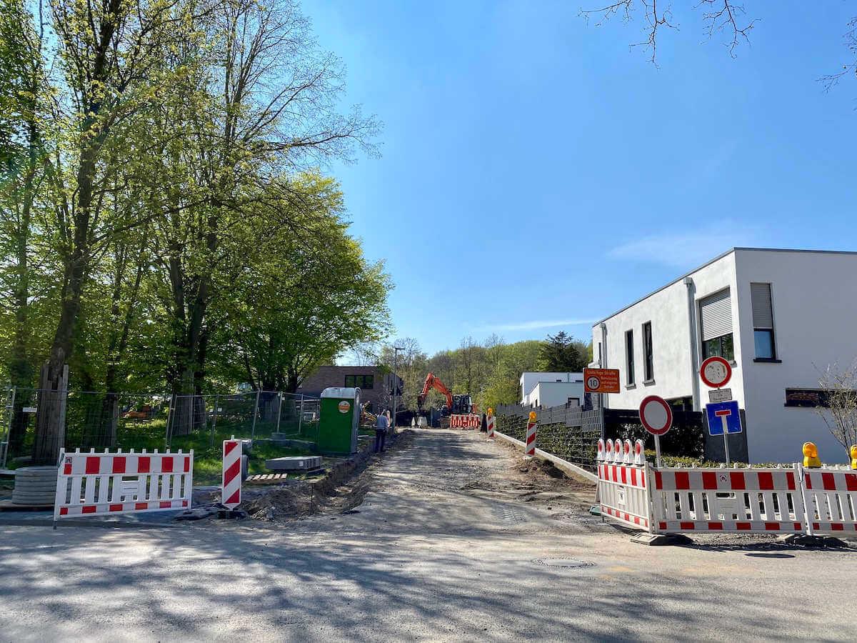 Straßenendausbau Wohnpark an den Höhen Viersen