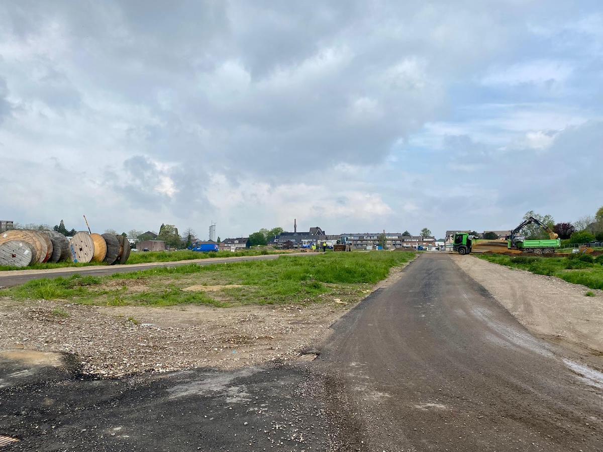 "Baustraßen im Wohnbaugebiet ""Burgfeld"" sind fertiggestellt"