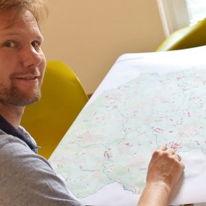 Breitband: Koordinator im Kreishaus zuversichtlich mit Blick auf Gewerbe