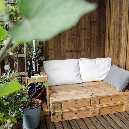 ein Bett im beet