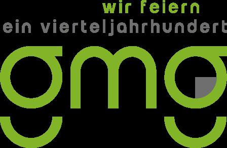 GMG 25 Jahre Logo mit Zusatz