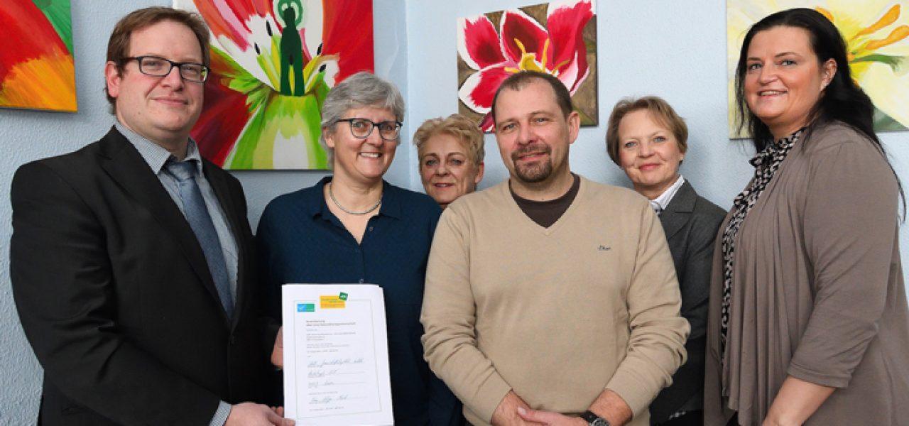 AOK und Hauptschule Süchteln erneuern ihre Kooperationsvereinbarung
