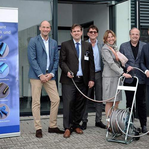 APD Schlauchtechnik GmbH feierlich eingeweiht