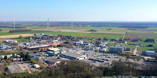 Mackenstein Südwest - Luftaufnahme März 2020