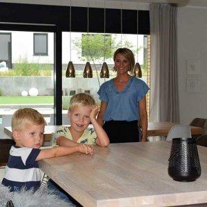 Dank GMG: Familie Küppenbender hat den Kick vom Traumhaus raus