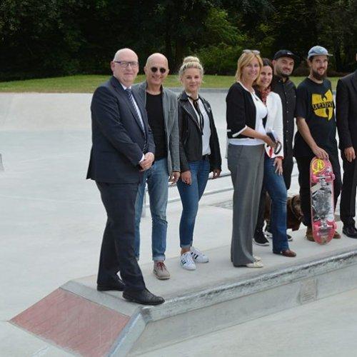 """Startschuss für """"Skate Plaza"""" am Hohen Busch"""