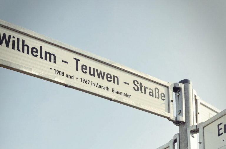 Straßennamen im Burgacker I-III