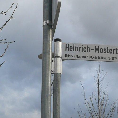 Straßennamen im Burgacker IV-V