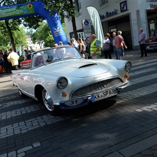 Oldtimer-Rallye in Viersen