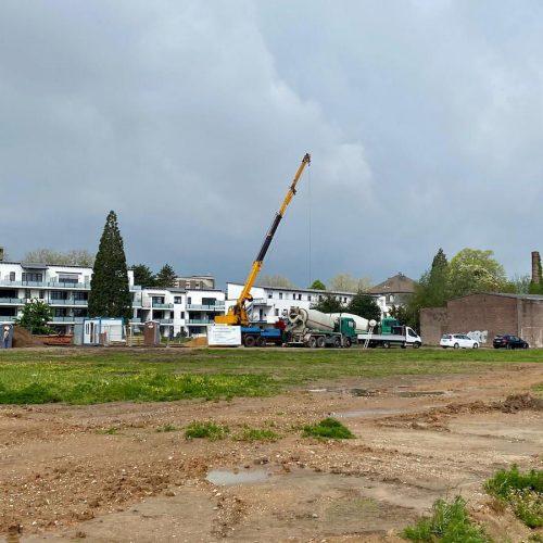 """Erstes Bauvorhaben im Wohnbaugebiet """"Burgfeld"""""""